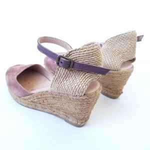 ff9d31fa9064 Gaimo Shoes - Gaimo Obi Suede Espadrille Wedges Leather Insole